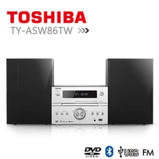 【TOSHIBA】DVD/MP3/USB/藍芽床頭音響 TY-ASW86TW