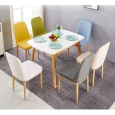 新品北歐簡約休閑家用椅子新品餐廳酒店椅靠背ins網紅椅子