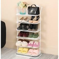 優樂美 歐式鐵藝多層鞋架家用金屬收納鞋架簡約現代簡易大鞋櫃客廳