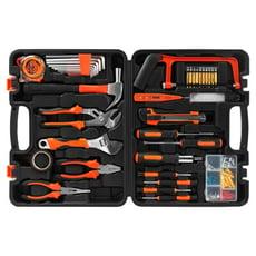 【TRENY直營】100件工具組 修繕工具 附收納盒 手工具 板手 起子 維修 家庭DIY JYS0