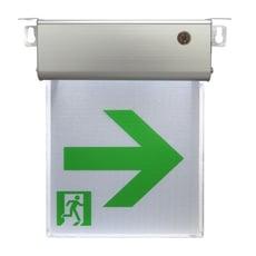 TRENY 小型1:1LED避難方向燈-右向 110V/220V 台灣製 高亮度 保固一年 9312