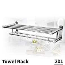 TRENY 不鏽鋼201浴室毛巾置衣架