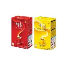 Maxim 麥心三合一咖啡(有糖/減糖)(100入/盒)隨身包 韓國原裝(禮盒包裝)