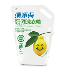 清淨海 檸檬系列環保洗衣精補充包 1800ml/包