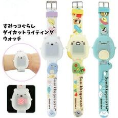 日本正版新款角落生物兒童發光手錶 生日禮物 禮品 獎勵