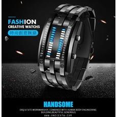 led手錶 LED Watch 電子手錶 流行 冷光 男 女