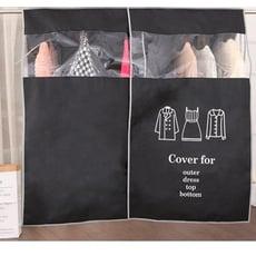 加大款不織布可透視衣物防塵罩