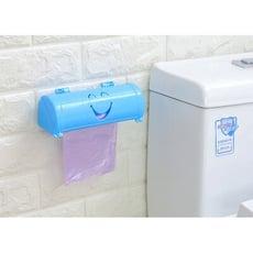 黏貼式垃圾袋收納盒 垃圾袋抽取收納盒 塑膠袋 收納盒 儲物盒 垃圾袋架 垃圾袋支架