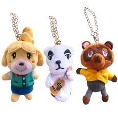 Nintendo Switch 任天堂原廠授權-動物森友會玩偶吊飾