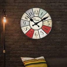 英國風格時鐘、英國復古掛鐘、客廳鐘錶、靜音木質掛鐘錶、石英壁鐘復古鐘