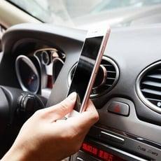 冷氣口 鋁合金鋼琴烤漆 牢固型 磁力 車用手機支架 磁吸 支架 汽車支架 車用手機架 車用手機支架