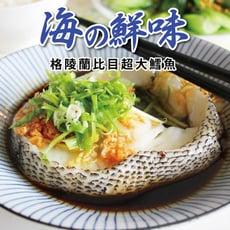 【勝崎】格陵蘭比目鱈魚切片~超大(370公克/1片)