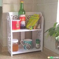 【Osun】DIY木塑板多功能廚房收納架(CE178- KC02)