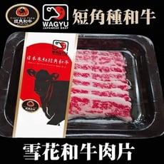 【海陸管家】日本短角和牛-雪花牛火鍋肉片X2盒(每盒約100g±10%)