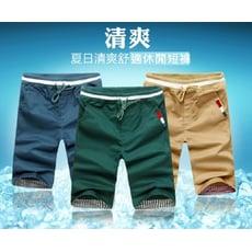 韓版棉質休閒短褲 L03372