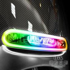 《潮酷文創》GOGORO幻彩燈膜6件組 大燈 方向燈 側燈 保護貼 車貼 車膜 / GS006
