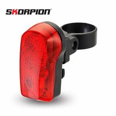 【SKORPION】7-LED自行車尾燈|自行車警示燈|自行車後燈