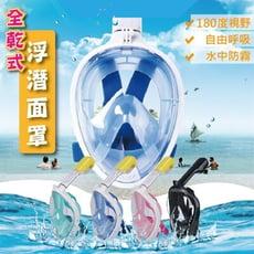全乾式浮潛面罩 潛水面罩裝備 浮潛面罩  潛水面罩 潛水裝備 浮潛裝備 玩水 浮潛 潛水
