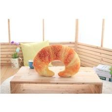 《貳次方》 牛角麵包頸枕 午安枕 U型枕 辦公室午睡枕 靠枕 抱枕 禮物