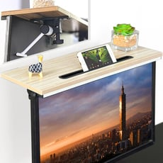 加大電腦螢幕上方置物架 (辦公室桌面整理架/電腦桌顯示器增高架/機上盒電視盒架) D145-ZS01