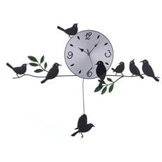WASHAMl-造型掛鐘(田園小鳥)