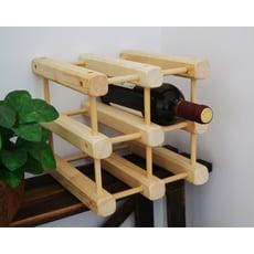 WASHAMl-日式松木創意併接造型酒架