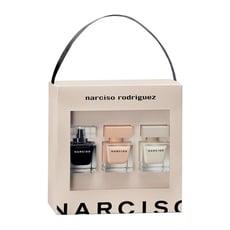 Narciso Rodriguez 同名禮盒 30ml*3 (同名淡香水/裸時尚粉淡香精/同名淡香精