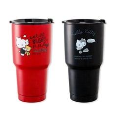 Hello Kitty 陶瓷不鏽鋼保冰杯 真空保溫杯 冰霸杯900ML正版