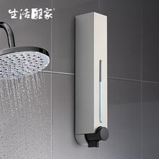 【生活采家】幸福手感典藏霧銀500ml單孔手壓式給皂機#47009