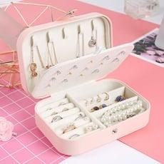 首飾盒 收納盒女公主歐式韓國便攜小號簡約精致迷你耳環耳釘手飾品盒l