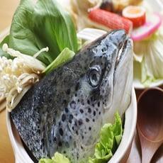 【四季御品】智利鮭魚頭剖半450g