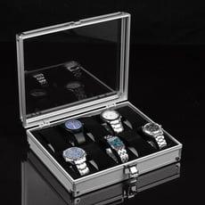 (少量現貨) 高檔手錶箱 手錶盒 鋁合金手錶展示盒 手錶收納盒 可放12支