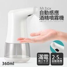 【Mr.Box】紅外線全自動感應酒精專用殺菌淨手噴霧機 206-AL