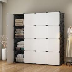 Mr.box-加大型16格16門收納櫃/置物櫃/書櫃【004009】