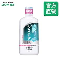 日本獅王浸透護齦EX漱口水-低刺激450ml(無酒精)