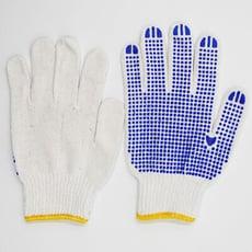 【居家寶盒】工作手套 防滑 耐磨 棉手套 顆粒止滑手套 作業手套 膠粒手套 搬運 工作 粗工 安全