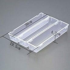 3格整理盒 三入 桌面抽屜收納盒 整理盒 自由組合收納 桌面收納 廚防收納【SV3864】居家寶盒