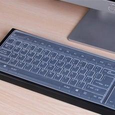 居家寶盒【SV9514】桌上型電腦鍵盤矽膠保護膜 透明鍵盤膜 通用鍵盤膜防水防塵防污