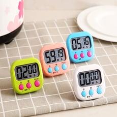 【居家寶盒】大螢幕電子計時器 料理烹飪 競賽 倒數計時 直播 活動計時 碼表 立式 廚房定時器大按鍵