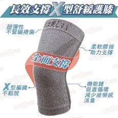 【京美】長效支撐X型舒緩護膝