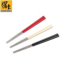 鍋寶 巧廚#304不鏽鋼筷-5雙入/包