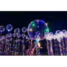 【18吋七彩告白氣球】LED燈告白氣球 第二代新款三段式開關變换 婚宴