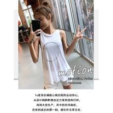 無袖速幹衣 韓版運動背心寬鬆速幹衣跑步訓練罩衫無袖瑜珈服t恤上衣 2色