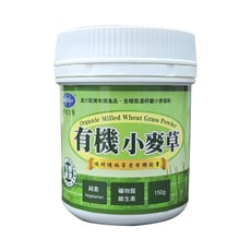 BuDer 標達 有機小麥草粉(150g/罐)-多件更優惠