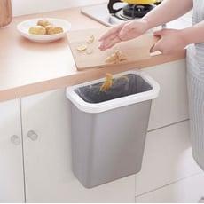 無蓋式便利桌邊掛式垃圾桶