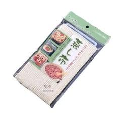 KM3710 日本蒸籠布不粘包子籠屜布廚房純棉蒸布透氣雙層蒸籠墊布