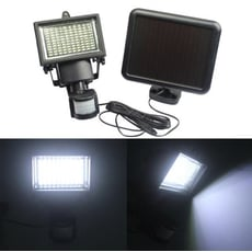 100LED太陽能人體感應壁燈 太陽能 紅外線 人體 感應燈 泛光燈 路燈 過道燈 別