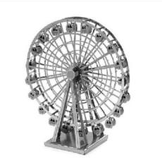 3D金屬模型diy 18種3D金屬拼圖.3D.立體金屬建築 鐵達尼 白宮 倫敦 阿帕契