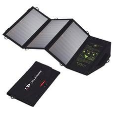 出口歐美【18W太陽能折疊包】ALLPOWERS便攜式太陽能包 18W快充折疊太陽能手機充電