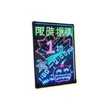 JA3-2 直式LED螢光手寫板(小) 廣告板/寫字板/發光板/電子板 40*29